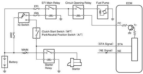 toyota tercel fuel circuit circuit wiring