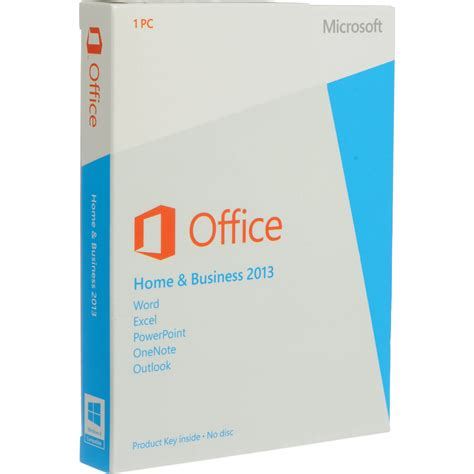 Microsoft Office Home Business microsoft office home business 2013 for windows aaa 02675