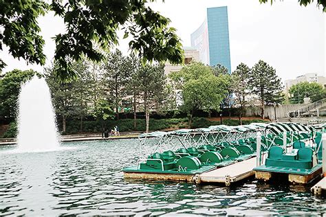 paddle boats on the canal in indianapolis indianapolis 101 the best of indy