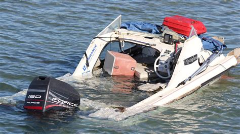 boating accident below deck two injured in boat crash central western daily