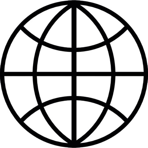 globe icons icons logos and tattoo globe grid dark outline icons free download