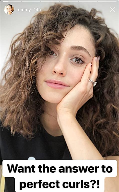 emmy rossum new hair best products for curly hair actress emmy rossum tried