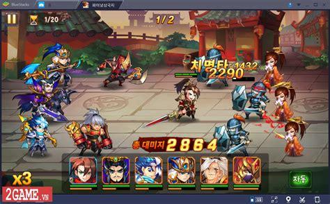 mod game omg 3q omg 3q vng cập bến việt nam với lối chơi thẻ tướng