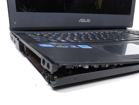 Asus Rog Laptop Troubleshooting asus rog republic of gamers g74s laptop computer for parts or repair ebay