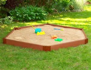 home depot sandbox frame it all 7 ft x 8 ft x 6 inch hexagon sandbox the