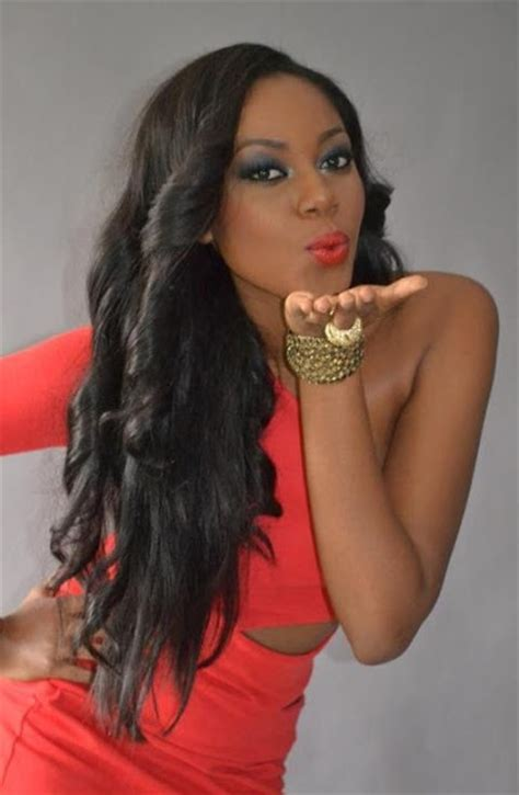 hairstyles of yvonne nelson celebrity hairstyles fashionistagh the premier source