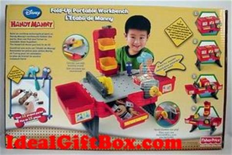 handy manny work bench fisher price handy manny fold up portable workbench r9050