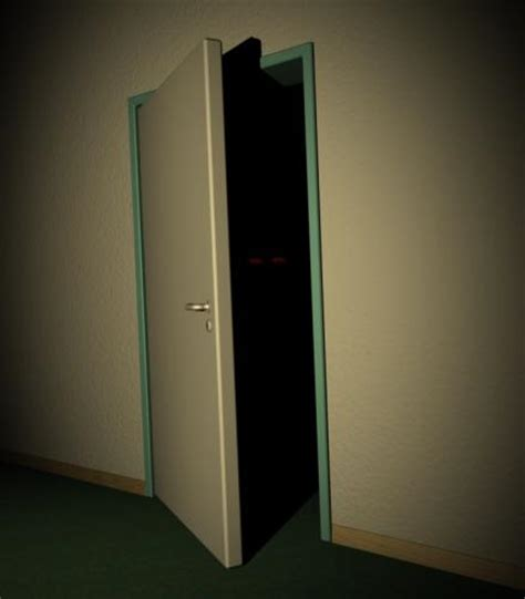 Closet Door Opening ghost theories creeped me out in childhood how