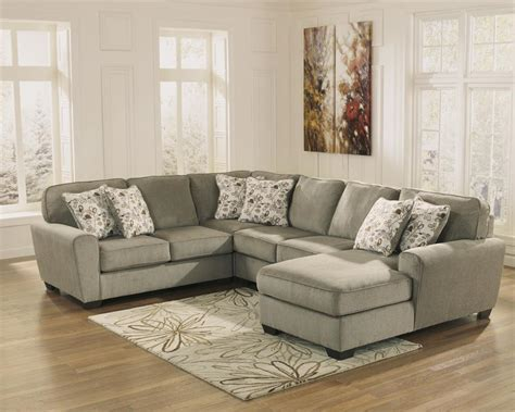 patola park sectional patola park patina sectional by ashley furniture