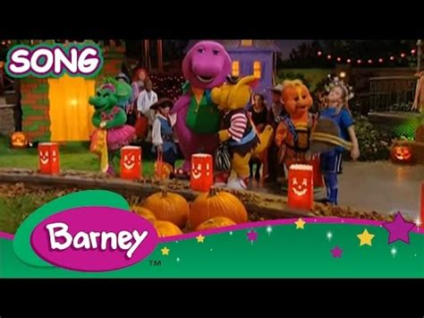 youtube barney and friends halloween party i you song happy barney friends