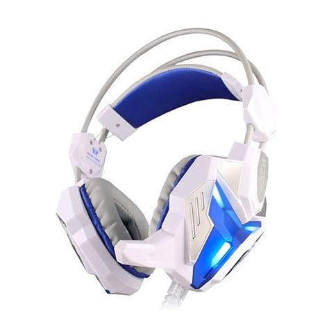 Headset Gaming Kotion Each G3100 With Audio 35mm Led Vibration 1 kotion each g3100 3 5mm adjustable usb gaming headset