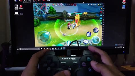 mobile legends pc mobile legends on pc with ps3 controller