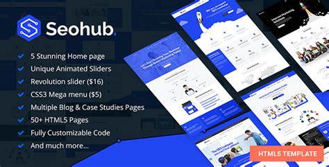 Seo Marketing Company 5 by Seohub Seo Marketing Social Media Multipurpose Html5