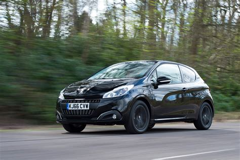 black peugeot peugeot 208 black edition review auto express