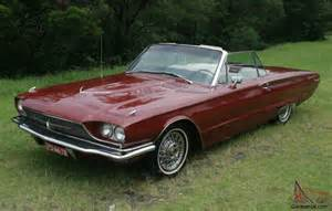 1966 ford thunderbird convertible 390 cubic inch 11 months