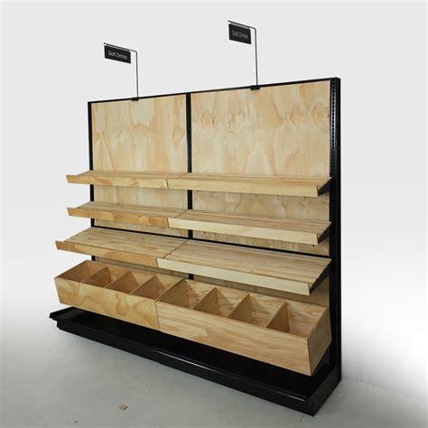 display shelving bakery display shelves wood store fixtures