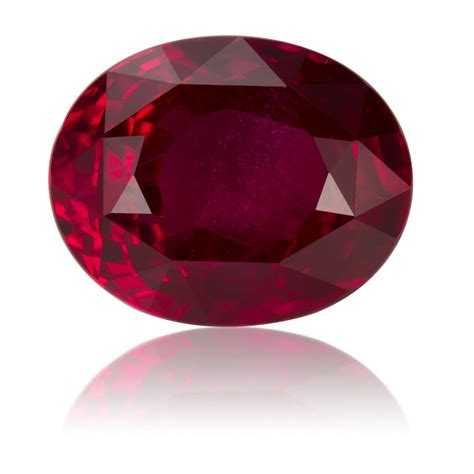 Pink Mozambique Ruby Oval ruby