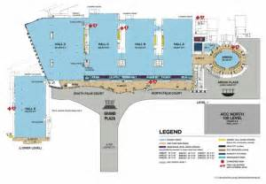La Convention Center Floor Plan anaheim convention campus visit anaheim