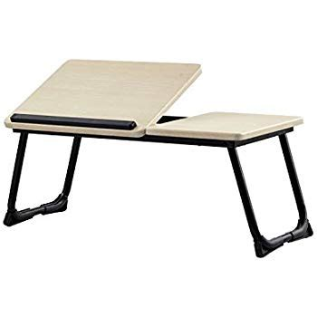 laptop desk for amazon com adjustable laptop table portable bed tray