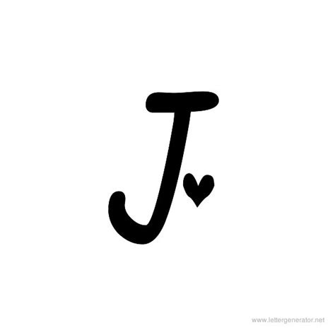 the letter j in different fonts www pixshark com