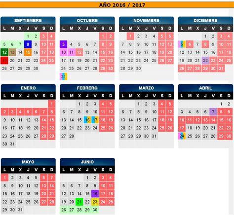 Calendario Escolar Aragon Fp Calendario Escolar De Arag 243 N 2016 17 Avvbarriojesus