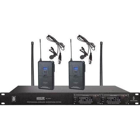 Murah New Mic Wireless Sennheiser Skm 5400 New Gol Limited jual mic wireless audiocore wl 6420u harga murah primanada