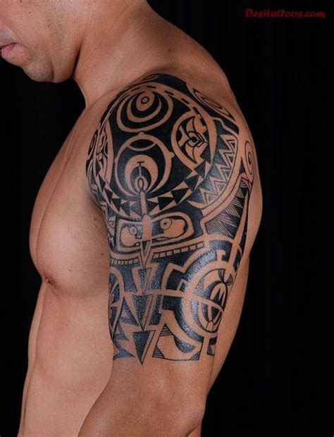 tribal tattoo half sleeve cost african tribal tattoos half sleeve tattooic