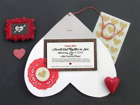 hearts knit together hearts knit together invite idea the mormon home