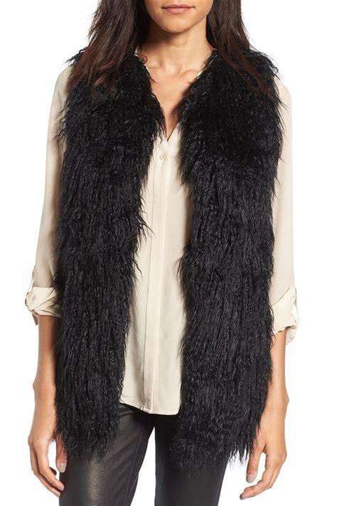 with fur vest 9 best faux fur vests for winter 2018 faux fur and