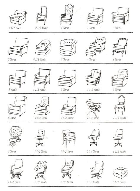 types of chairs names 1000 images about furniture classification on