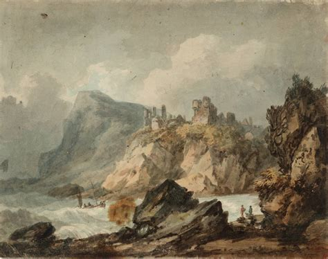 Landscape Composition Joseph Mallord William Turner Landscape Composition With