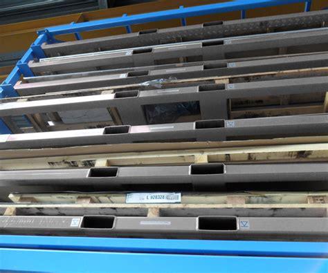 Sheet Metal Racks Storage by Metal Sheet Forklift Rack Eurostorage Storage Sheets