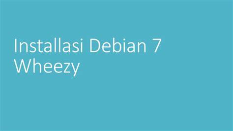 tutorial konfigurasi web server debian 5 tutorial instalasi debian 7 wheezy dns dhcp webmail dan