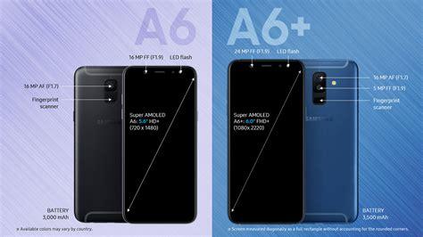 Harga Samsung A6 2018 Indonesia samsung galaxy a6 a6 harga spesifikasi fitur 2018