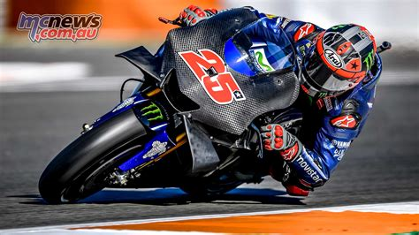 test motogp maverick vinales tops day of 2018 motogp testing