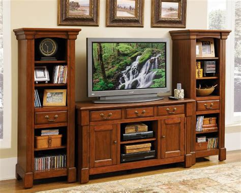 rustic entertainment centers  flat screen tvs doma