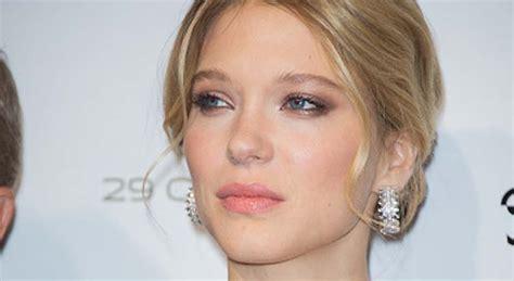lea seydoux makeup spectre fotd lea seydoux is parisian chic at spectre premiere in