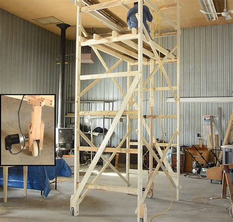 Build Your Own A Frame House by Extreme Diy Matthias Wandel S Drill Driven Motorized