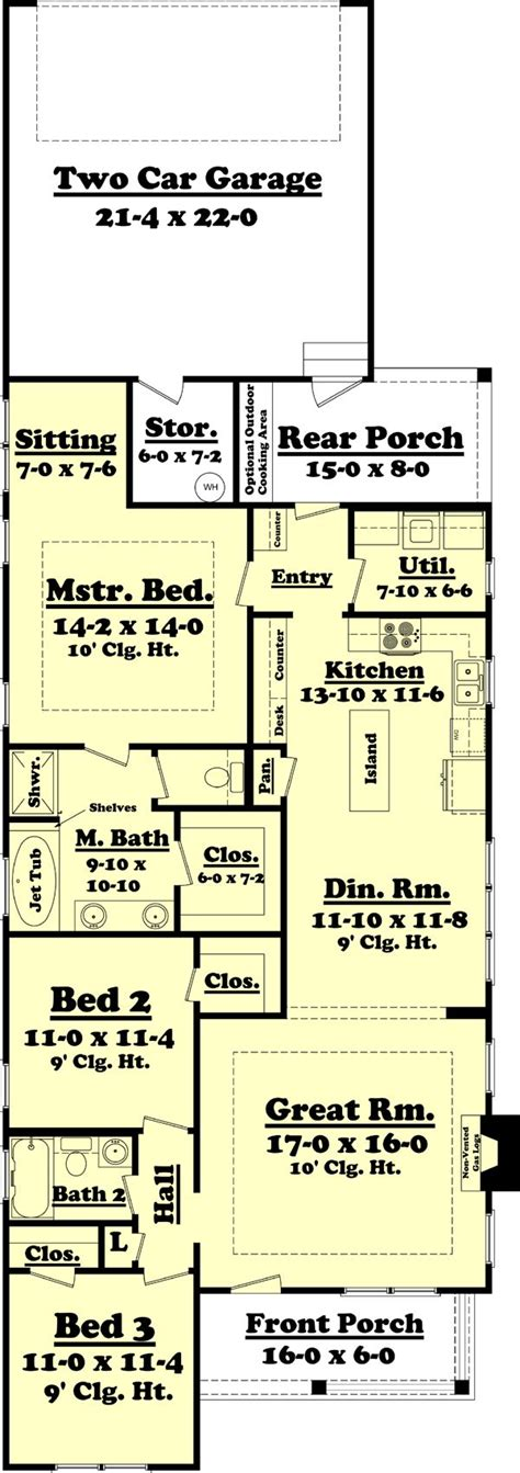 Cabin Style Homes Floor Plans by Best 25 Cottage Style House Plans Ideas On Pinterest