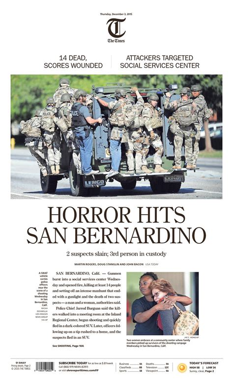 How The Media Covered The Gallery How The Us Media Covered Shootings The New Daily