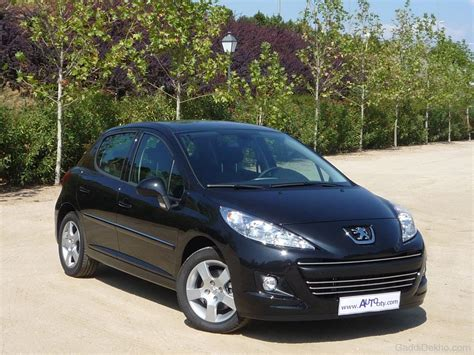 black peugeot peugeot 207 car pictures images gaddidekho com
