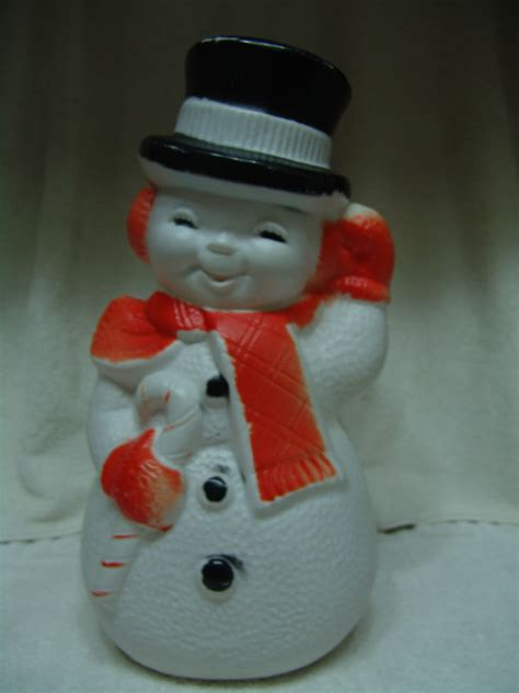 polk brothers santa claus or snowman for sale mold snowman shop collectibles daily