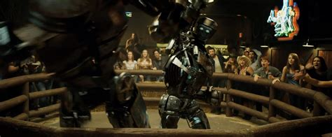 film robot boxing video photos hugh jackman real steel trailer released
