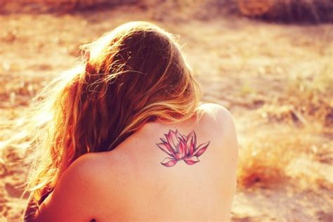 small beautiful pics 65 lotus flower tattoo designs that is full of meanings