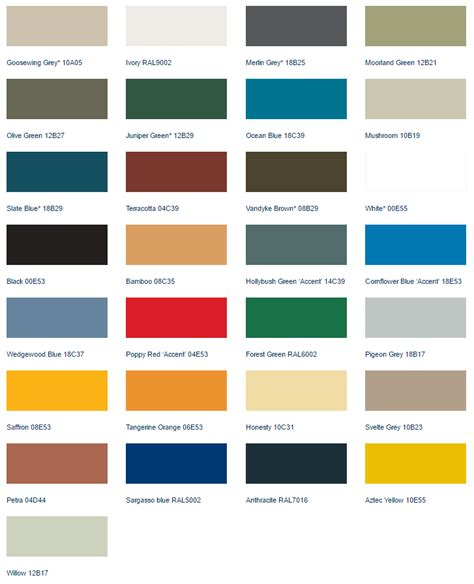 uk colors colours uk