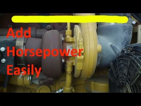 increase your cat diesel engine horsepower. rerate a c15