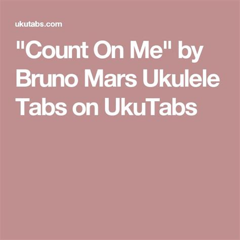 ukulele tutorial count on me the 25 best count on me ukulele ideas on pinterest