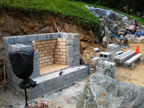 outdoor fireplace construction plans jen joes design