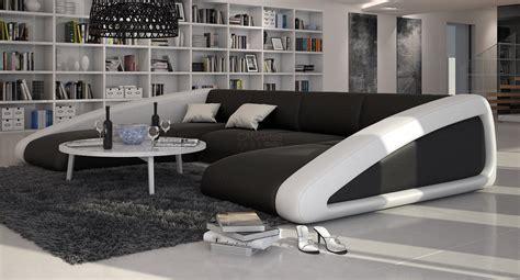 grand canapé en u grand canap 233 d angle original en cuir large v2 2 085