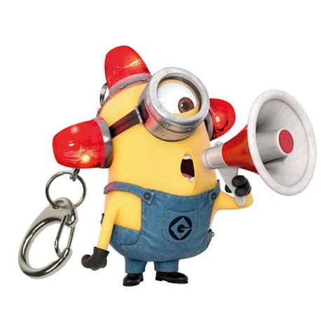 Mainan Pedang Minion Light And Sound minions electronic lights and sound key chain ppw toys despicable me minions key chains